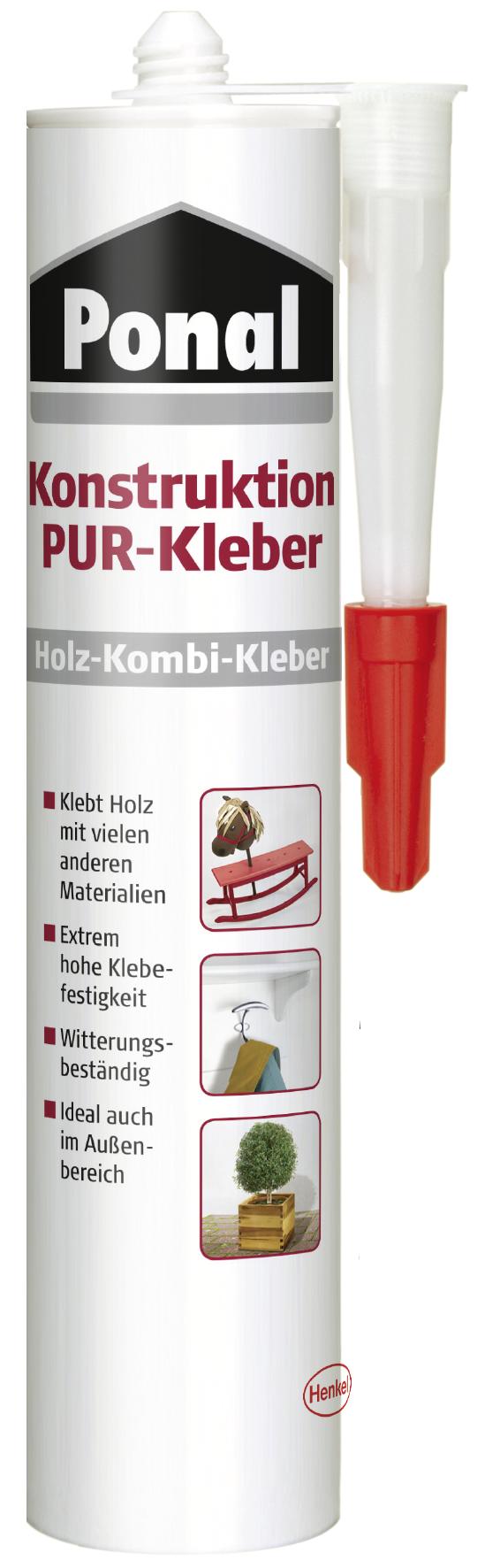 Ponal Konstruktion PUR-Kleber